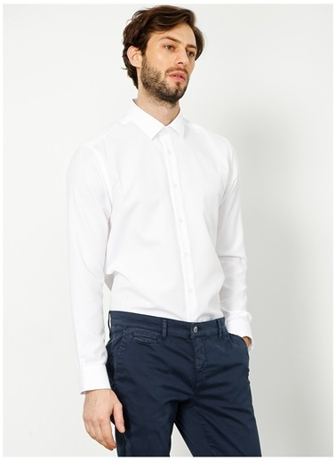 Fabrika Fabrika 315 Beyaz Erkek Gömlek Beyaz